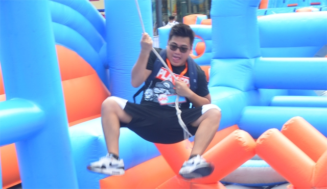 6-Inflatable Obstacle Course